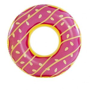 Stor Flytande Donut - badring 125 x 125 cm