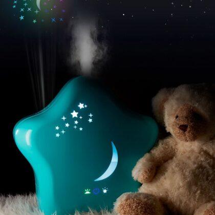 Moony – Luftfuktare för barn med nattljusfunktion – Lanaform