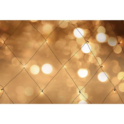 Nordic Home LED ljusnät för utomhusbruk, varmvit, 120×150 cm