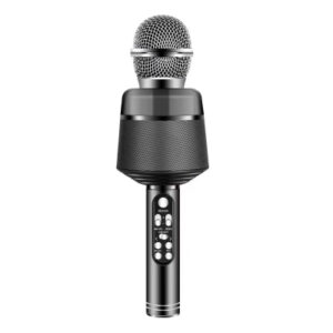 Ridecle Trådlös Bluetooth‑mikrofon för mobiler, svart MIDAL