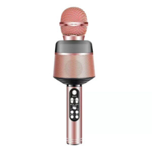 Ridecle Trådlös Bluetooth‑mikrofon för mobiler, rosa MIDAL
