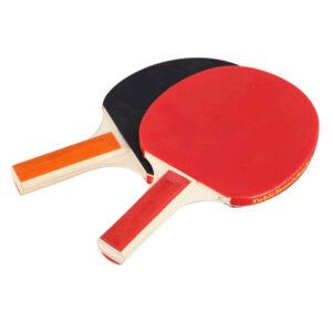 Bordtennis‑racket med 3 bollar, 2‑pack MIDAL