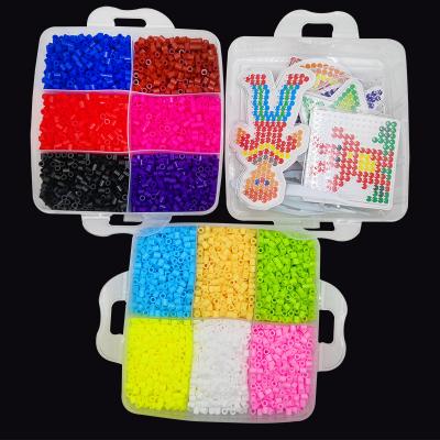 Pärlkit för barn, 12 färger, 9000 delar MIDAL