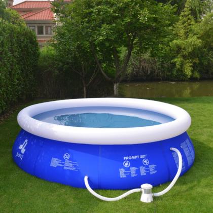 JILONG Fast Set Pool med filterpump 300×76 cm