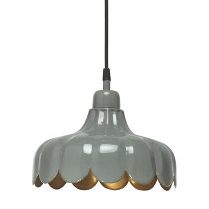 Wells fönsterlampa Grön/Guld PR HOME