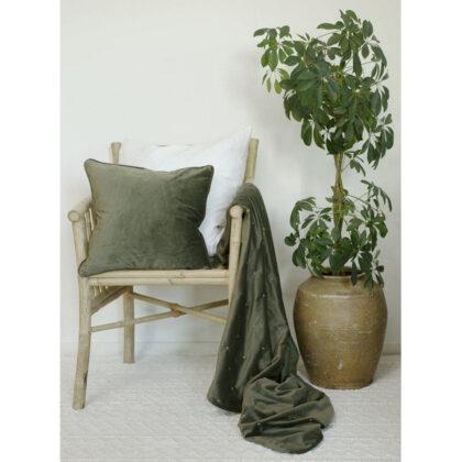 Dothy Pläd Grön 130×170 cm Svanefors
