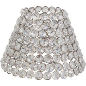 Classic Metallskärm Diamant 22 cm MIDAL