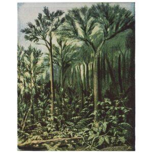 Botanic Bonad Grön 100x127 cm MIDAL