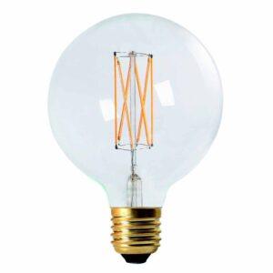 Elect LED Filament Globe Clear 125 mm MIDAL