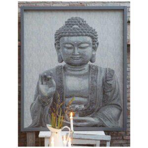 Buddha Bonad Grå 140x160 cm MIDAL