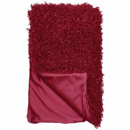 Dora Pläd Röd 120×155 cm