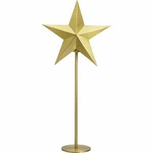 Nordic Star on base Pale gold 76 cm MIDAL