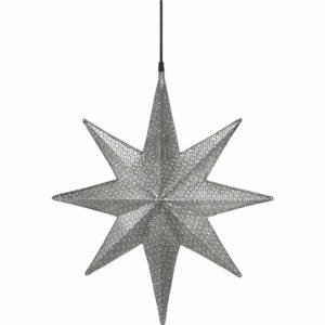 Capella Stjärna Svart nickel 40 cm MIDAL