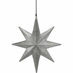 Capella Stjärna Svart nickel 50 cm MIDAL