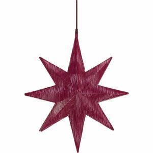 Capella Stjärna Röd 50 cm MIDAL
