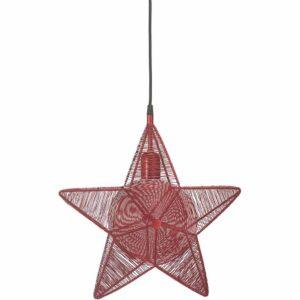 Rigel Stjärna Röd 40 cm MIDAL