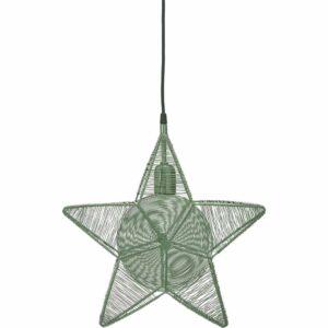 Rigel Stjärna Grön 40 cm MIDAL