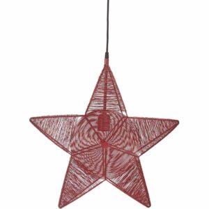 Rigel Stjärna Röd 50 cm MIDAL