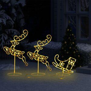 Ljusfigurer och träd